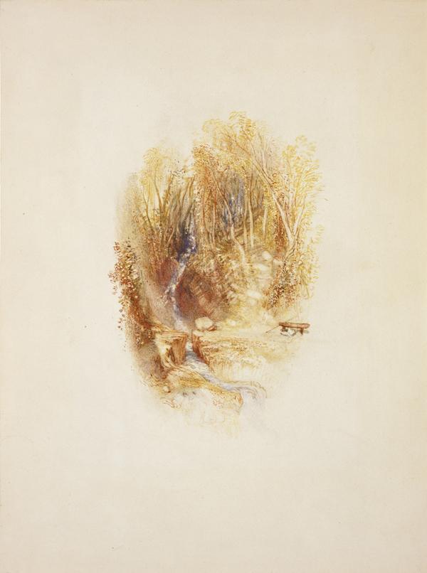 Rhymer's Glen, Abbotsford (1831)
