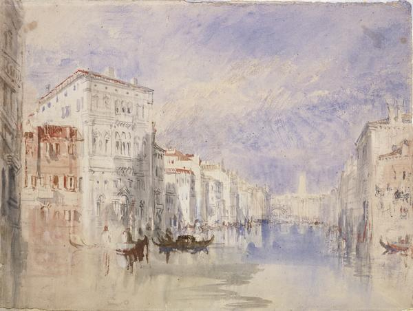 The Palazzo Balbi on the Grand Canal, Venice (About 1819 - 1835)