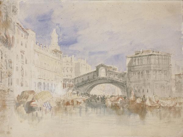 The Rialto, Venice (About 1819 - 1835)
