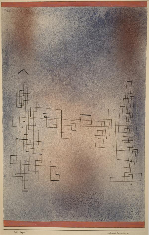 Drohender Schneesturm, no. 291 [Threatening Snowstorm] (1927)