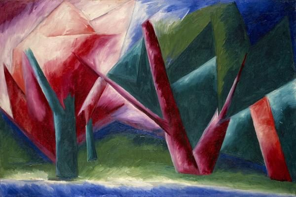 La Forêt [The Forest] (About 1913)