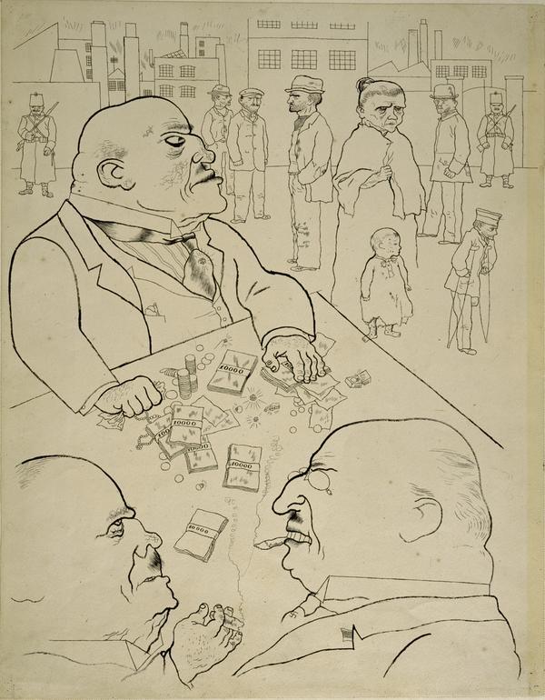 Die Besitzkröten [Toads of Property] (1920)