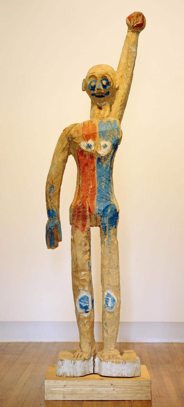 Ohne Titel [Untitled (Figure with Raised Arm)] (1982 - 1984)