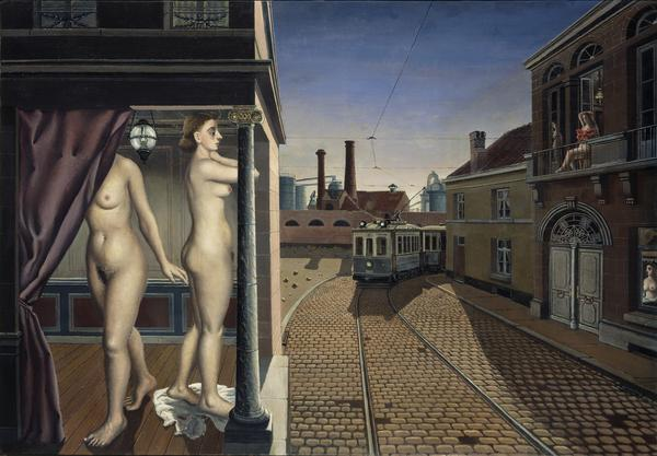 La Rue du tramway [Street of the Trams] (1938 - 1939)