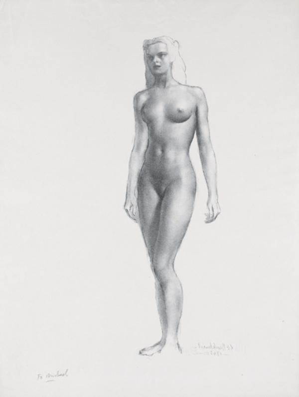 Standing Nude (1945)