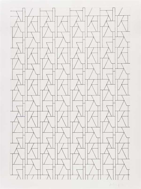 Untitled (Concrete Trees repeat) (2006)