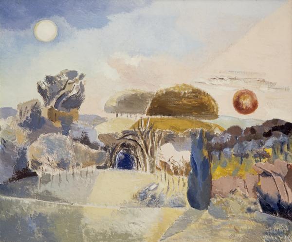 Landscape of the Vernal Equinox (III) (1944)