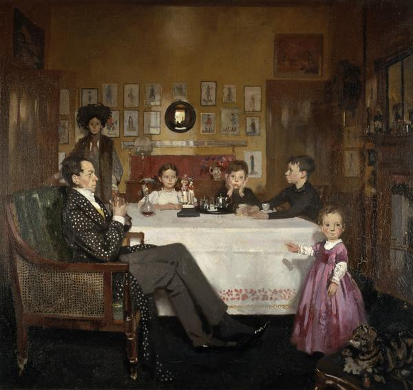 A Bloomsbury Family (1907)