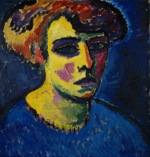 Frauenkopf [Head of a Woman] (About 1911)
