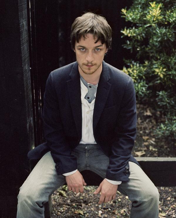 James McAvoy, b. 1979. Actor (July 2004)