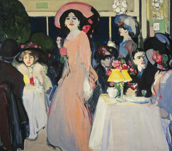 La Terrasse, Café d'Harcourt (about 1908 - 1909)
