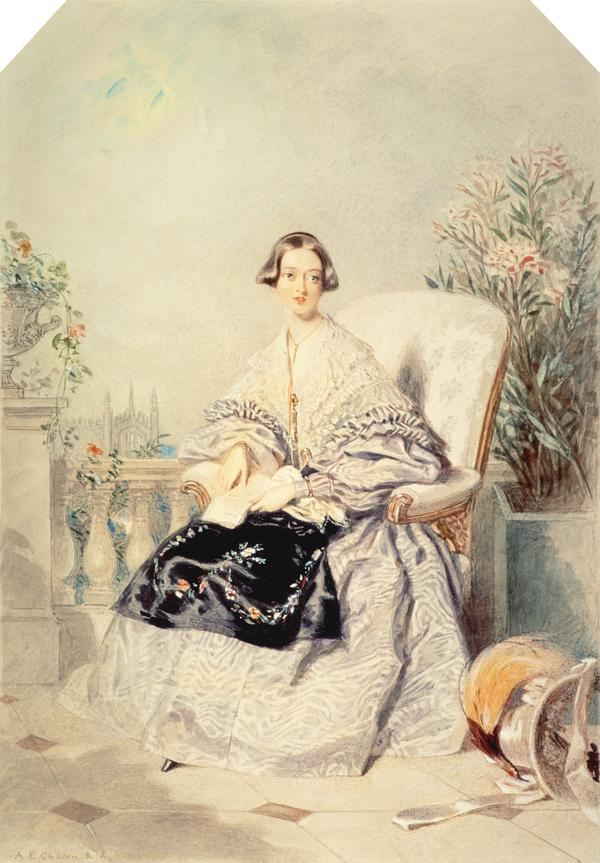Queen Victoria, 1819 - 1901. Reigned 1837 - 1901 (1838)