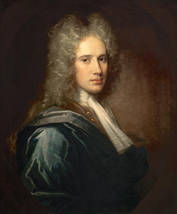 William Aikman, 1682 - 1731. Artist (Self-portrait) (1711)