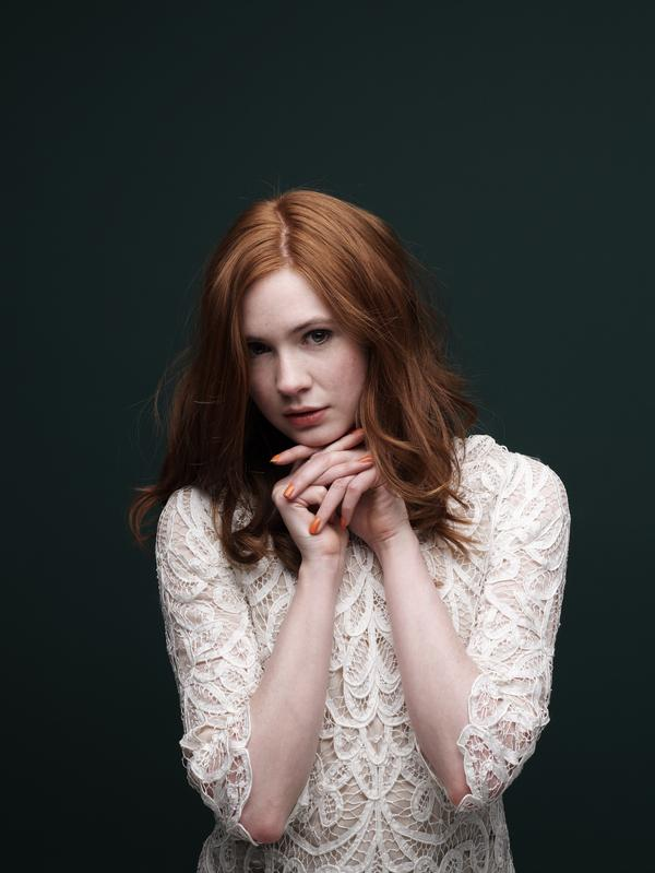 Karen Gillan, b. 1987. Actress (12 February 2010)