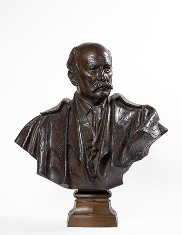 Sir Robert Rowand Anderson, 1834 - 1921. Architect; designer of the Scottish National Portrait Gallery (Dated 1921)