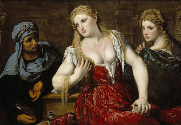 Venetian Women at their Toilet (About 1545)