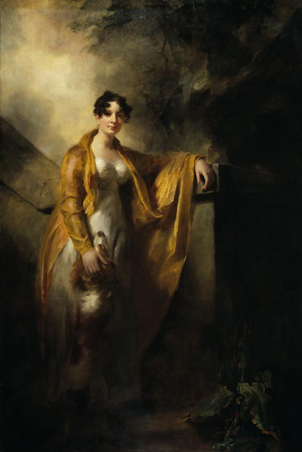 Justina Camilla Wynne, Mrs Alexander Finlay of Glencorse (1785 - 1814) (About 1810)