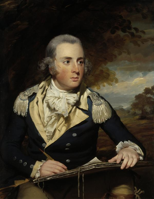 Lieutenant-Colonel George Lyon (active 1788 - about 1826) (Probably painted 1788)