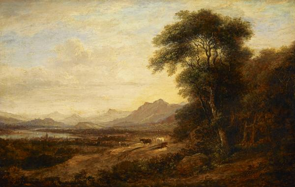 The Windings of the Forth (or The Forth near Alloa, Stirling in the distance) (About 1835)