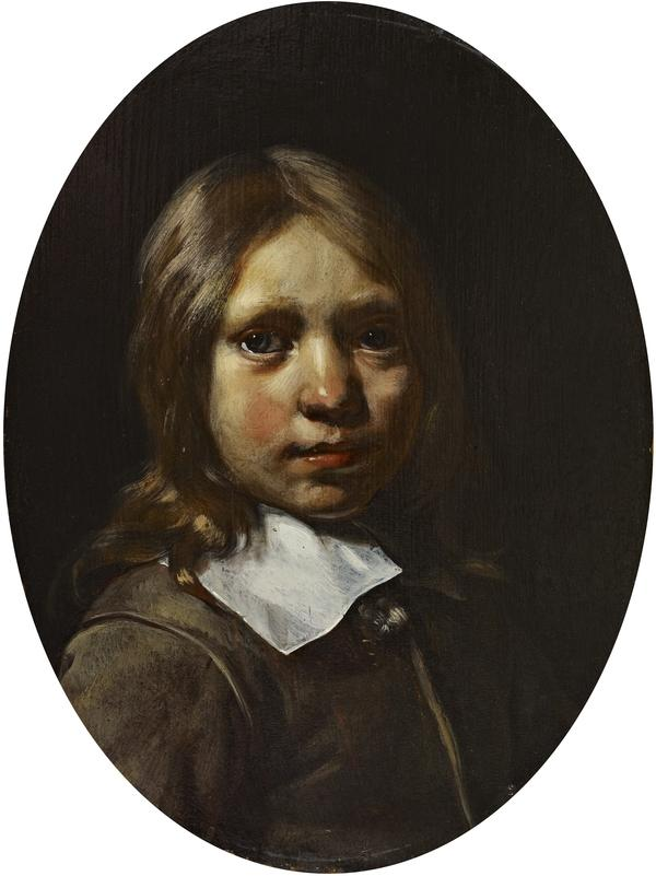Portrait of a Boy (Aged 7) (Dated 1663)