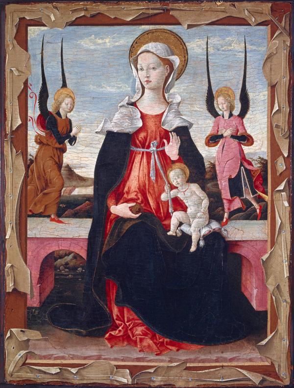 The Virgin and Child with Angels (15th century)