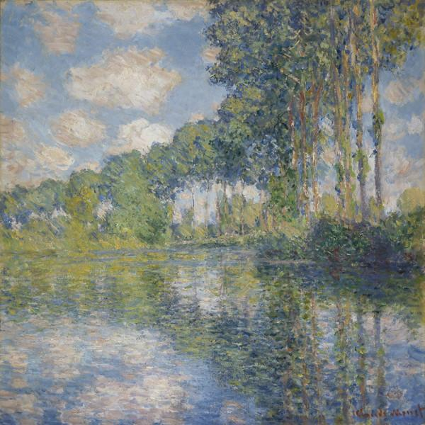 Poplars on the Epte (1891)