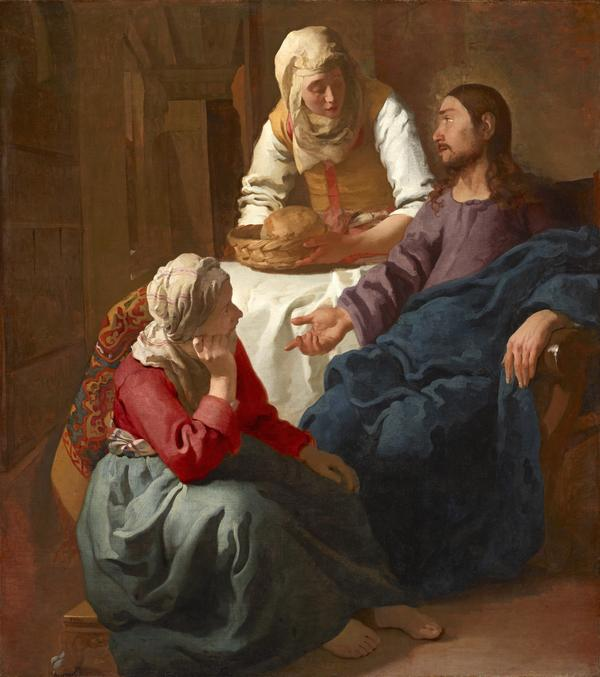 Christ in the House of Martha and Mary (About 1654 - 1656)