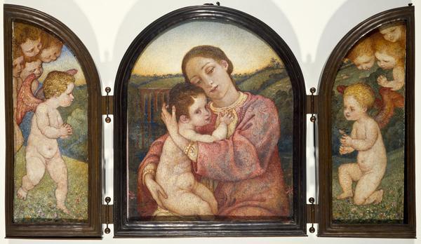 Triptych. Motherhood (Dated 1902)