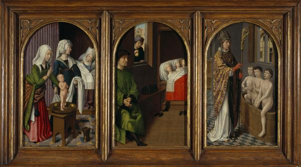 Three Legends of Saint Nicholas (About 1500 - 1520)