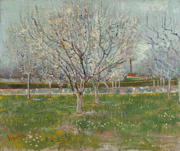 Orchard in Blossom (Plum Trees) (1888)