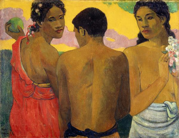Three Tahitians (1899)