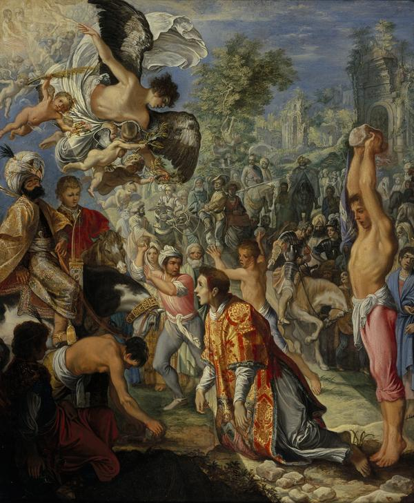 The Stoning of Saint Stephen (About 1603 - 1604)