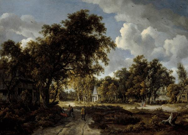 Wooded Landscape (About 1662 - 1663)