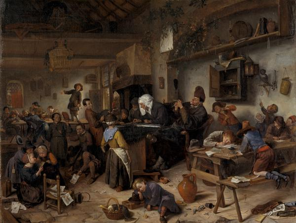 A School for Boys and Girls (About 1670)
