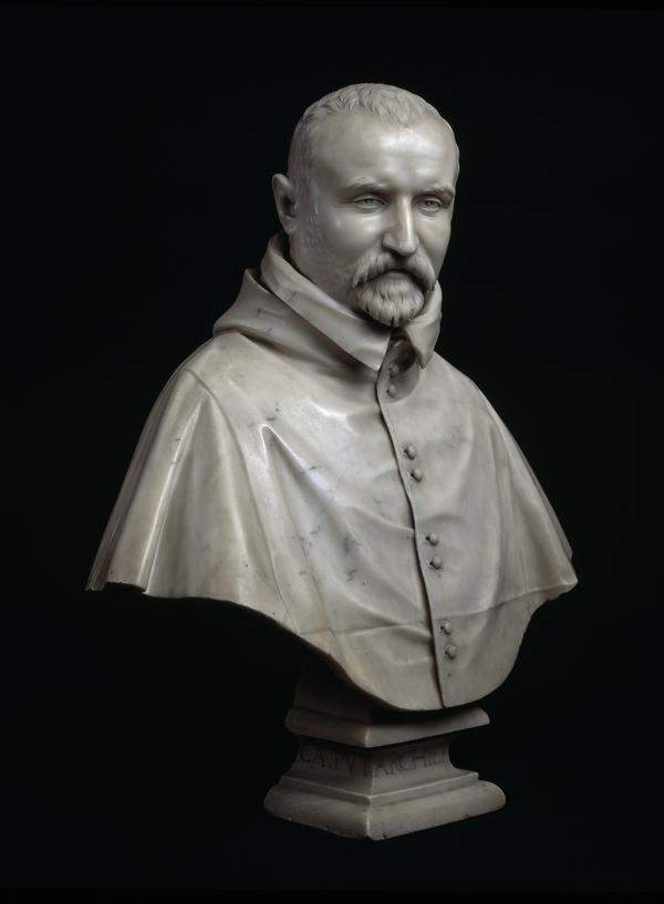 Portrait Bust of Monsignor Carlo Antonio dal Pozzo, Archbishop of Pisa (1547 - 1607) (1620)