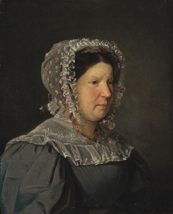 Portrait of Cecilia Margaret Købke, the Artist's Mother