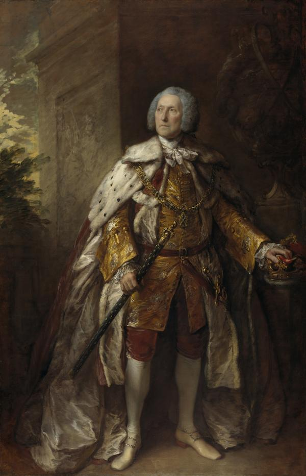 John Campbell, 4th Duke of Argyll, about 1693 - 1770. Soldier (1767)