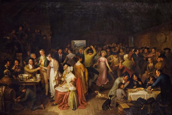 The Penny Wedding (About 1819)