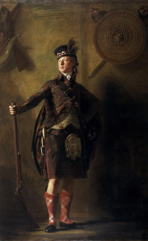 Colonel Alastair Ranaldson Macdonell of Glengarry (1771 - 1828) (exhibited 1812)