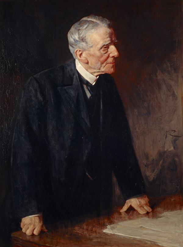 Sir Henry Duncan Littlejohn, 1826 - 1914. President of the Royal College of Surgeons, Edinburgh (about 1907)