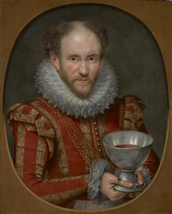 Tom Derry, fl. 1614. Jester to Anne of Denmark. (Previously called 1st Viscount Stormont) (1614)