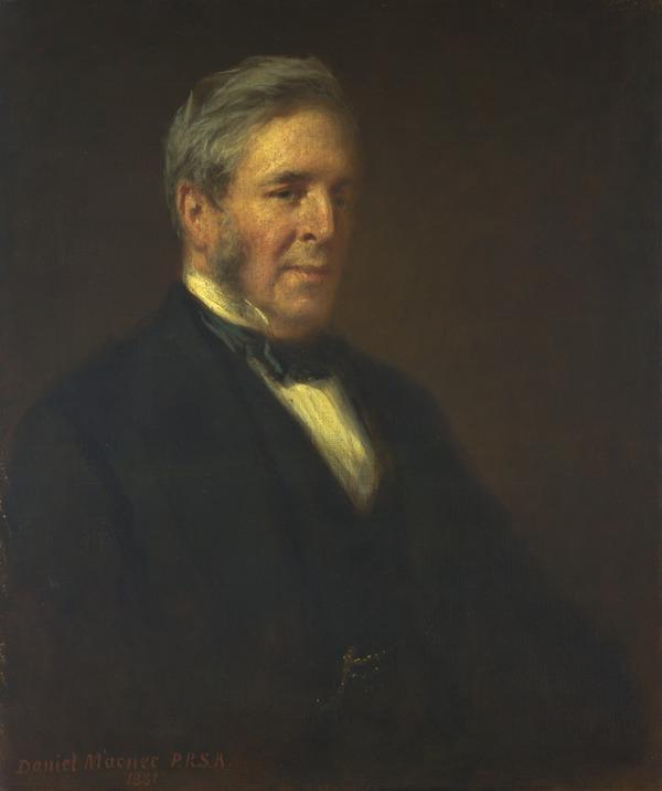 Arthur Perigal, 1816 - 1884. Landscape painter (1881)