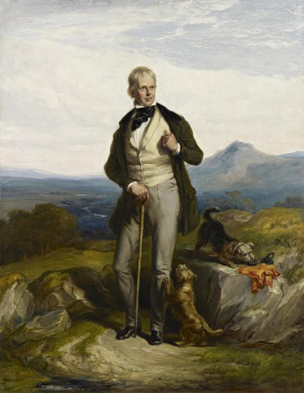 Sir Walter Scott, 1771 - 1832. Novelist and poet (About 1844)