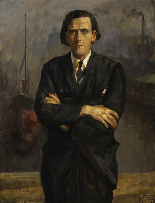 James Maxton, 1885 - 1946. Labour politician (About 1933)