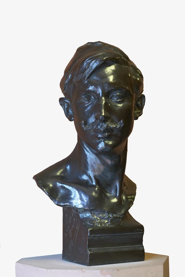 Robert Brough, 1872 - 1905. Artist (about 1905)
