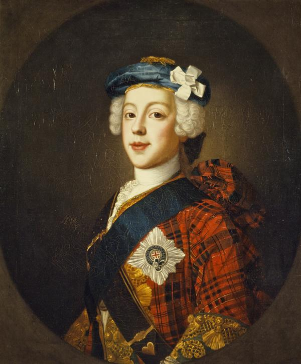 Prince Charles Edward Stuart, 1720 - 1788. Eldest son of Prince James Francis Edward Stuart (About 1750)