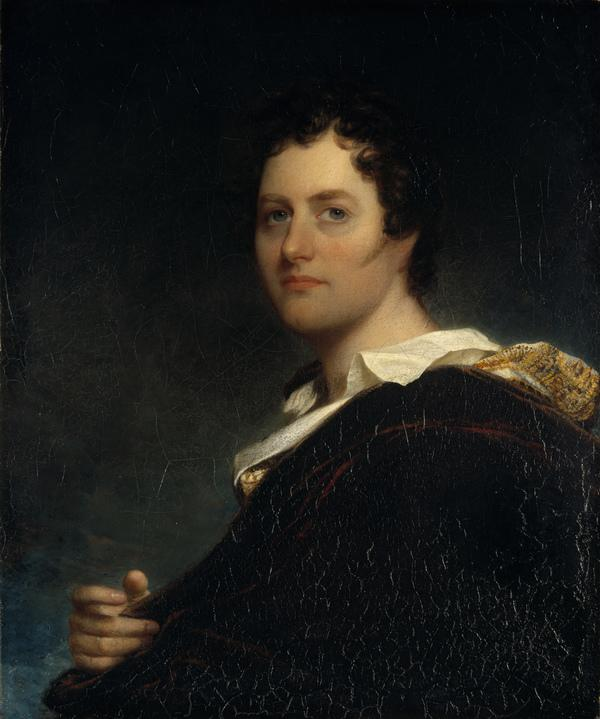 George Gordon, 6th Lord Byron, 1788 - 1824. Poet (1822)