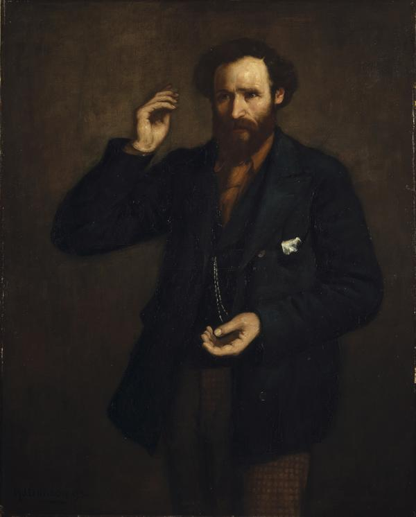 James Keir Hardie, 1856 - 1915. Labour leader (1893)