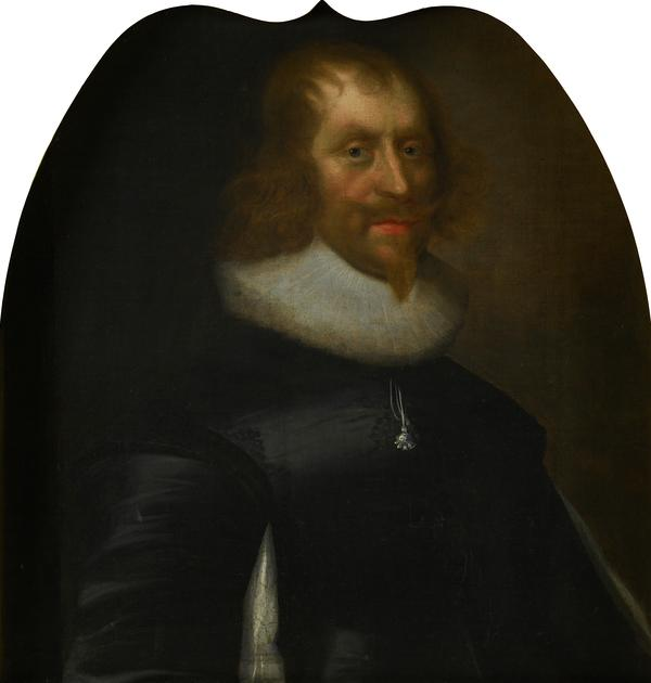 Sir Archibald Napier, 1st Lord Napier, 1576 - 1645. Extraordinary Lord of Session (Dated 1637)
