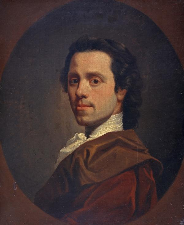 Allan Ramsay, 1713 - 1784. Artist (Self-portrait) (Dated 1781)